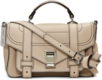 Proenza Schouler Beige Tiny Ps1and Satchel