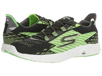 Skechers Go Run 5 Black Green Men's Running Shoes