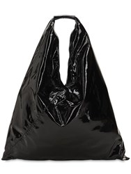 Maison Martin Margiela Japanese Patent Leather Bag Black