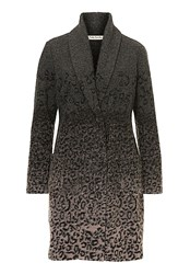 Betty Barclay Unlined Animal Print Jacket Grey