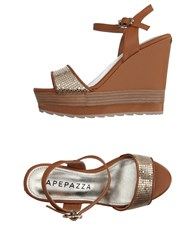 Apepazza Sandals Tan
