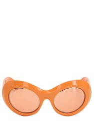 Emilio Pucci Oval Sunglasses Orange