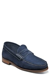 Florsheim Heads Up Penny Loafer Navy Suede