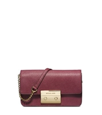 Michael Kors Sloan Saffiano Leather Crossbody Claret