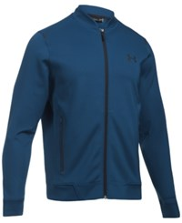 Under Armour Men's Elevated Bomber Jacket Blue