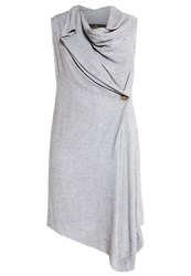 Vivienne Westwood Anglomania Duo Cocktail Dress Party Dress Grey