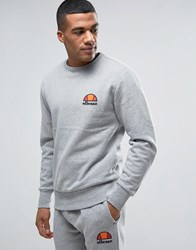 Ellesse Sweatshirt With Small Logo Grey