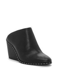 Lucky Brand Larsson 2 Leather Mules Black