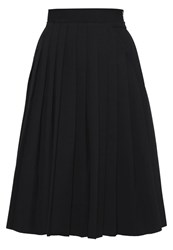 Eleven Paris Tremblement Pleated Skirt Black