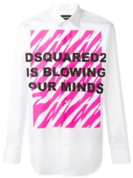 Dsquared2 Blowing Our Minds Shirt White
