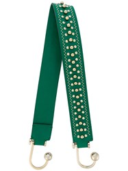 Elie Saab Detachable Purse Strap Green