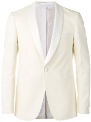Dinner Formal Blazer Men Cupro Virgin Wool 50 White