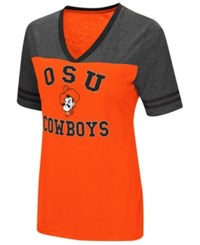 Colosseum Oklahoma State Cowboys Whole Package T Shirt Orange Heather Charcoal