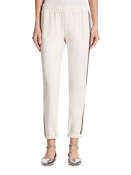 Brunello Cucinelli Striped Jogger Pants
