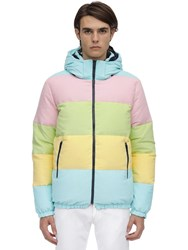 Lc23 Multicolor Reversible Down Jacket