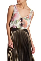 Wildfox Couture Vintage Flower Tank Multi