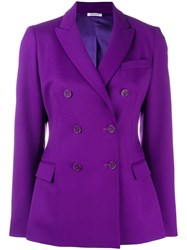 P.A.R.O.S.H. Double Breasted Blazer Pink And Purple