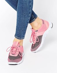Bronx Multi Pink Trainers Multipink