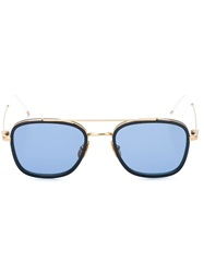 Thom Browne Square Frame Sunglasses Blue