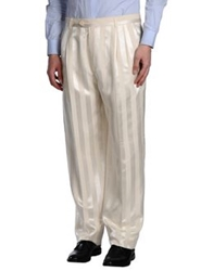 Carlo Pignatelli Casual Pants Ivory
