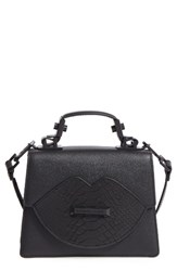 Kendall Kylie Lips Leather Satchel