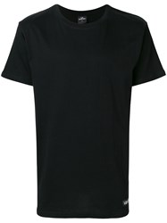 Les Artists Art Ists 'Virgil 80' Back Printed T Shirt Black