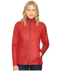 Kuhl Firefly Jacket Red Spice Women's Coat Brown
