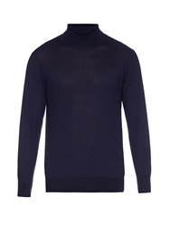 Richard James Roll Neck Fine Cashmere Knit Sweater