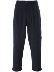 Universal Works Twill Trousers Blue