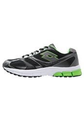 Lotto Zenith Vi Cushioned Running Shoes Black Titan Green