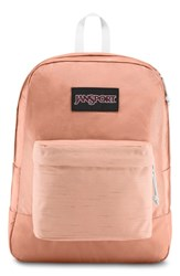 Jansport Black Label Superbreak Backpack Pink Muted Clay