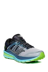 Saucony Triumph Iso 2 Running Shoe Wide Width Available Gray