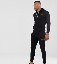 Good For Nothing Skinny Jogger In Black With Logo