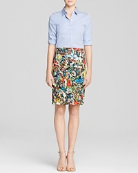 Alice Olivia Shirt Dress Bloomingdale's Exclusive Ruela Fitted Managerie Foral