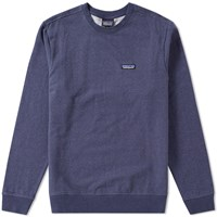 Patagonia P6 Label Crew Sweat Blue