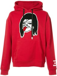 Haculla Mo Money Mo Problems Hoodie Cotton Xl Red