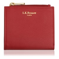 Lk Bennett L.K. Kira Small Wallet Red
