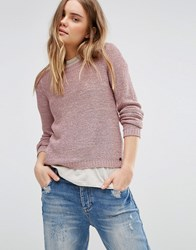 Only Geena Knit Jumper Pink