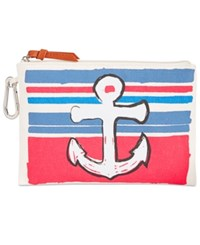Style And Co Co. Canvas Pouch Only At Macy's Anchor