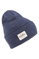 Coal Women's 'The Uniform' Beanie Blue Heather Navy