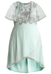 Frock And Frill Curve Cocktail Dress Party Dress Mint Black