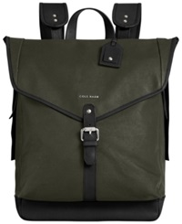 Cole Haan Waxed Canvas Backpack Ivy