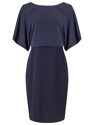 Jacques Vert Kimono Sleeve Dress Navy