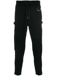 Alyx Track Pants With Silver Hardware Nylon Spandex Elastane Viscose L Black