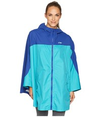 Outdoor Research Panorama Point Poncho Baltic Typhoon Clothing Blue