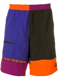 The North Face Contrast Panelled Shorts Blue