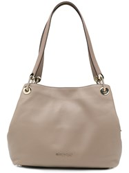 d6be575bf5 Michael Michael Kors Raven Large Shoulder Bag Nude And Neutrals