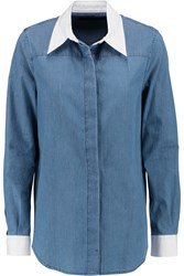 Karl Lagerfeld Ivy Denim Shirt Blue