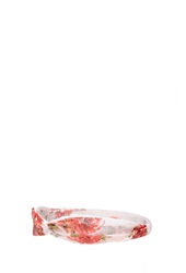 Forever 21 Chiffon Floral Headwrap Pink Multi