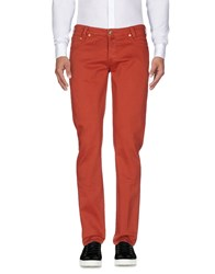 Betwoin Casual Pants Brick Red
